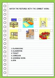 English worksheets: places worksheets, page 230