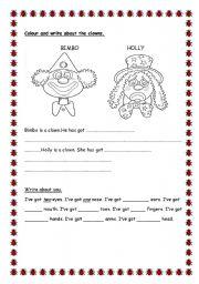 English Worksheets: nice worksheet