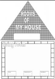 furniture and rooms of the house - Draw Your House
