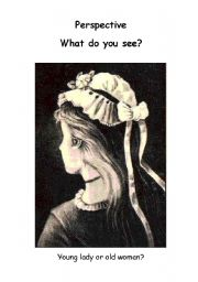 English Worksheets: Different perspectives