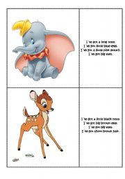 English Worksheets: Find the right character part 1.