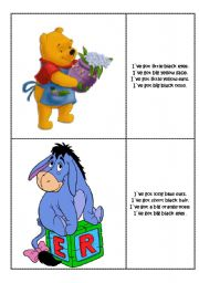 English Worksheets: Find the right character 2