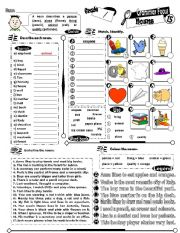 English Worksheet: Grammar Focus Series_15 Nouns (Fully Editable + Key)