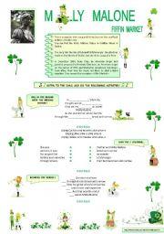 English Worksheets: MOLLY  MALONE
