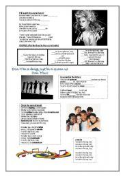 English Worksheets: Born This Way by Lady Gaga