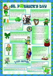 English Worksheet: ST PATRICK´S DAY