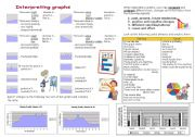 Business English: Interpreting graphs - useful expressions and exercises