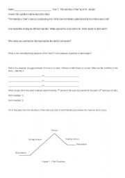 english worksheets monkey s paw response. Black Bedroom Furniture Sets. Home Design Ideas