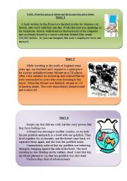 English Worksheets: READING-COMPREHENSION, animals part 2