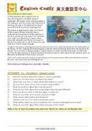 English Worksheets: Japanese Wave of Destruction