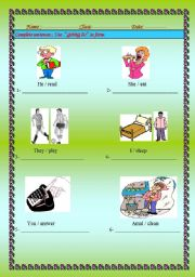 English Worksheets: writing good sentences