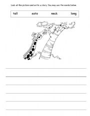 English Worksheets: Picture Writing