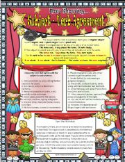 English Worksheets: Subject -verb Agreement 2 ***EDITABLE *** ANSWER KEY INCLUDED