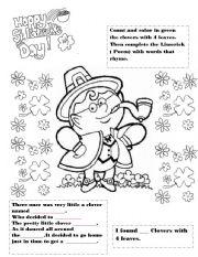 English Worksheets: Saint patricks