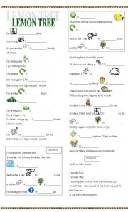 Esl worksheets for beginners lemon tree - Smart gardening small steps for an efficient activity ...