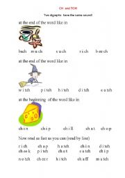 Ch And Tch Worksheets Worksheets for all | Download and Share ...