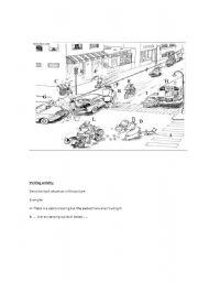 English Worksheets: Funny writing activity