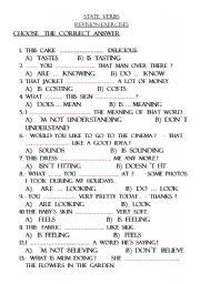 worksheet: State Of Being Verbs Worksheets Teaching Grammar And ...