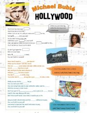 English Worksheet: Michael Bubl�