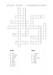 Ecc E Fd Cb C A A together with Big Vocabulary Matching Worksheet Food furthermore Image Width   Height   Version further Nouns Plural Worksheets likewise Plural Words Add S Worksheet Learn. on plural nouns crossword puzzle