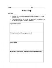story map worksheets. Black Bedroom Furniture Sets. Home Design Ideas