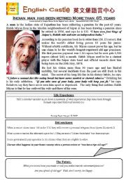Oldest Man Alive.