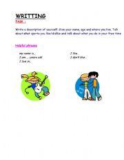 English Worksheets: YOUR DESCRIPTION