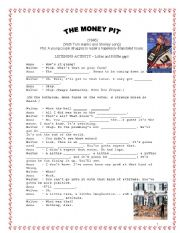 English Worksheets: Movie Activity The Money Pit