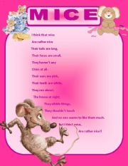 English Worksheets: MICE