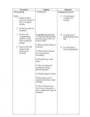 English Worksheet: lesson plan-reading