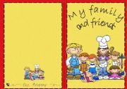 English Worksheets: Book: My family and friends
