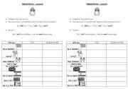 English Worksheet: PREDICTIONS