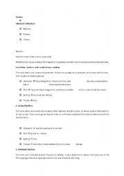 English Worksheets: Genre