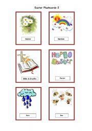 English Worksheet: Easter Flashcards 2/2