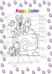 EASTER TO COLOR!!!