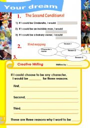 English Worksheets: Your Dream