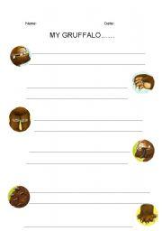 English Worksheets: the gruffalo