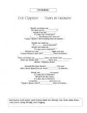 English Worksheets: Fill in the blanks