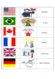 countries and nationalities game esl worksheet by odinicas. Black Bedroom Furniture Sets. Home Design Ideas