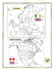 English Worksheet: ENGLISH SPEAKING COUNTRIES 2/2