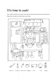 Hidden Pictures Find Bathroom Stuffs Esl Worksheet By Jo Kim