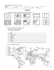 English Worksheet: Countries - Where are you from?
