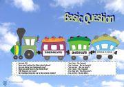 English Worksheets: Question Locomotive: Basic question scheme