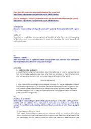 English Worksheets: Movie District 9 part 1