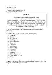 English Worksheets: Prison break