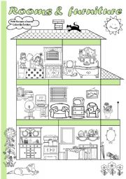House and furniture lesson plan
