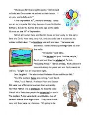 Past Tense Story In English Amazing Stories