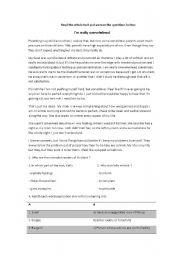 English Worksheets: parenting