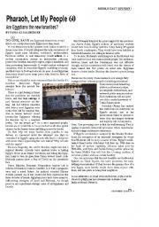 English worksheet: Dictators  The Arab Revolution of  2011