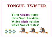 Reading worksheets > Tongue twisters > TONGUE TWISTER